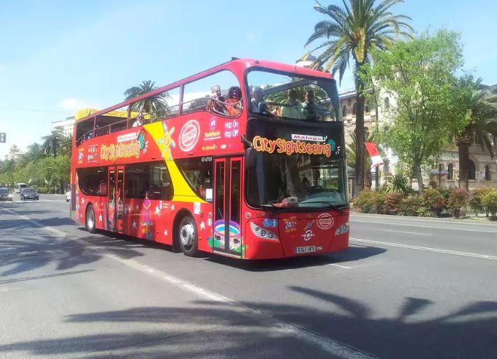 Bus turístico - Tour Málaga - T&E