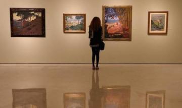 Sala del museo Pablo Picasso