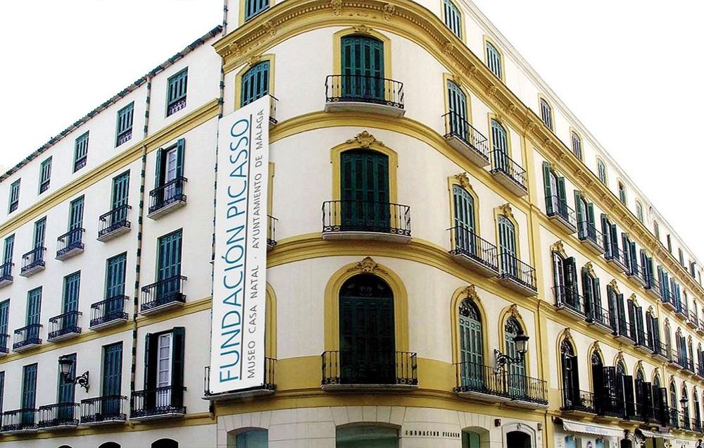 fachada del Museo Pablo Picasso