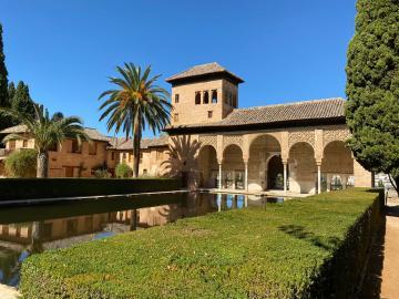 La Alhambra y sus cinco sentidos Vip